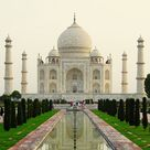 1  photograph of the TAJ MAHAL in the Indian City of AGRA   .. great for framing ... it measures 8.5x11
