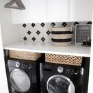 Small-Space Laundry Room Storage
