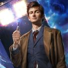 10th Doctor Who, an art print by Josh Burns