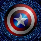 Captain America Swirling shield background by KalEl7 on DeviantArt