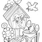 Free & Easy To Print Bird Coloring Pages