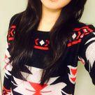 Tribal Print Sweater