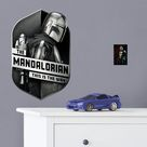 The Mandalorian Shield - Officially Licensed Star Wars Removable Wall Decal XL by Fathead   Vinyl