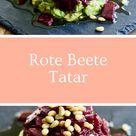 Rote Beete Tatar mit Avocado - femclub - Lebe deine Weiblichkeit