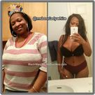 Danielle lost 95 pounds   Black Weight Loss Success
