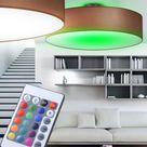 RGB LED Textil Decken Strahler Leuchte Farbwechsel Wohn Zimmer Lampe dimmbar • EUR 82,90
