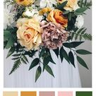 Mustard Color Palette - Chloe Bouquet
