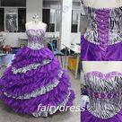 Zebra Print Dresses