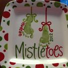 Mistletoe Footprint