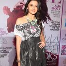 Alia Bhatt in Short Gray Dress