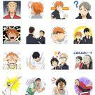 HAIKYU Line Sticker