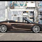 2011 Audi R8 Spyder 5.2 FSI Quattro    Side View