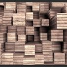 Fototapete Wooden Finesse 245 cm x 350 cm