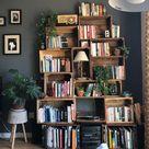 My cozy homemade bookcase