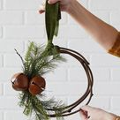 Modern Christmas wreath ideas: Fresh ways to welcome the holidays - Think.Make.Share.
