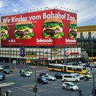 lieferando | Berlin | The Berlin Giant | Wir Rinder vom Bahnhof Zoo | Riesenposter