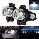 Generico 2 piezas LED Angel Eyes Halo Ring Maker bombilla de luz blan