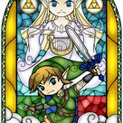 Skyward Sword Stained Glass by Ranefea on DeviantArt