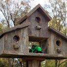 Rustic Birdhouses