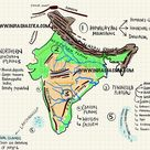[Geography] Our Country India | NCERTou Class 6 Chapter 7 | Notes + Solutions + Quiz - India Shastra
