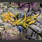 Fototapete Stunning graffiti 210 cm x 300 cm