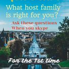 Au Pairs: How do you choose the right family for you?