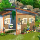 """🌷🌳🏠 Are you a Sim who wants to live in the middle of nowhere? With no pesky neighbors bringing their nasty loafs and a """"welcome wagon"""" around?"""