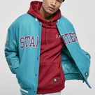 Starter Team Authentic Oldschool College Jacket (3 colors!) - Lake Blue / M