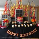 Firefighter Birthday Parties