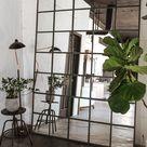 DIY IKEA Hack Industrial Mirror