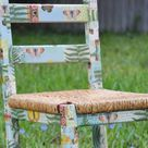 Decoupage Chair