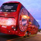 FC Bayern Bus fährt leer bis nach Glasgow