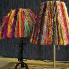 Ribbon Lamp Shades
