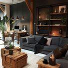 Eleganz auf männliche Art – diese Wohnzimmer sind typisch maskulin - Fresh Ideen