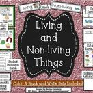 Living and Non-living Things Activity Set CCSS