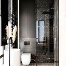 Exklusives und modernes Badezimmer (Marmor)