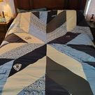 Blue Giant quilt pattern PDF download  Pattern for upcycled   Etsy