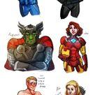 Marvel/Avengers Shippings