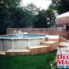 pallet pool deck ideas discovered by Pallet Ideas
