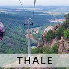 Seilbahnen Thale - Die Hexen- und Erlebniswelt im Harz (Deutschland)