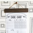 Printable Chore Chart - Sincerely, Sara D. | Home Decor & DIY Projects