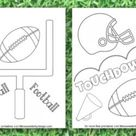 Football Coloring Pages - Life is Sweeter By Design