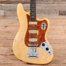 Fender Bass Vi Olympic White 1962 S672 Bass Guitar Stratocaster Guitar Acoustic Bass