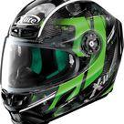 X-Lite X-803 Ultra Carbon Provocator integral helmet - Black/Grey/Green - S