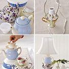 25 Unique Lighting Fixtures, Creative Lighting Design Ideas Recycling Teapots