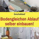 Duschablauf  | selbst.de