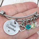 Personalized Grandma Keychain Gift For Nana Mimi Penny | Etsy