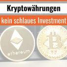 Bitcoins sind keine Altersvorsorge • LazyInvestors