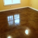 Stained Cement Floors