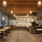 Amorim WISE Waterproof Cork Flooring Wood Look Mocca Oak $4.99/sf 7.48 x 48.22 Planks 20 sf/case